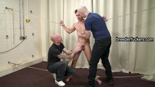 Gay BDSM Oliver - Dick Manipulated Ruthlessly Groped