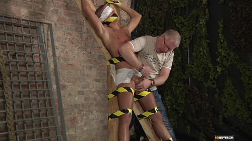 Gay BDSM Slave Boy Made To Squirt