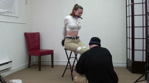 BDSM Serene in chair