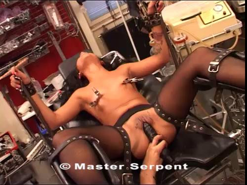 bdsm Brunette Hard Pussy And Tits Torture Part Four