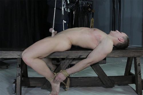 Gay BDSM RusCapturedBoys - Artem Zakharov in Slavery. Part 2