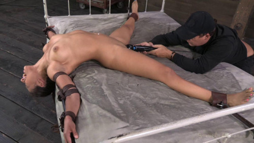 BDSM Big ass Jynx Maze rag doll fucked & suspended upside down