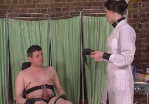 Femdom and Strapon Nurses Secret