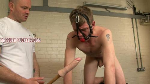 Gay BDSM Bound & gagged for Bryan