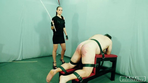 Femdom and Strapon More brutal punishment