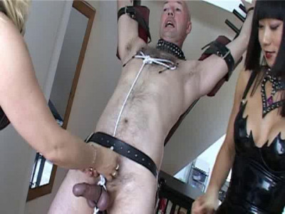 Femdom and Strapon Wicked Dommes