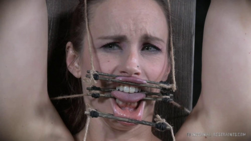 BDSM Hard bondage, spanking and torture for very sexy model Full HD1080