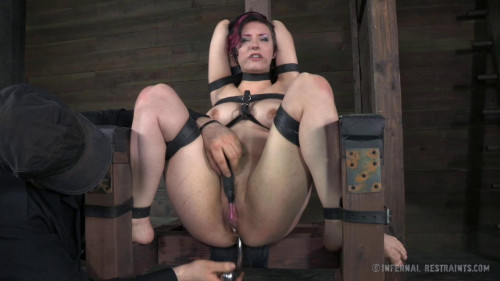 BDSM Stretched, Smacked and Spread - Iona Grace