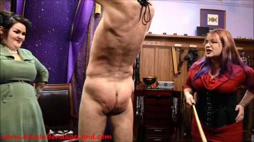 Femdom and Strapon Masochist Meets Sadists - Mistress Vyra Manicure CBT Nipple Torture Fingernail Fetish