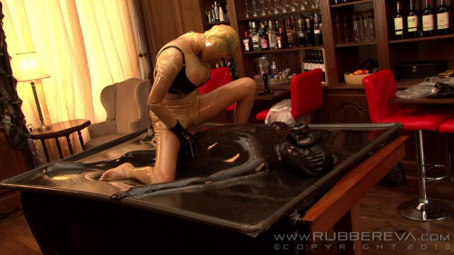 BDSM Latex Fetish Latex Eva part 4