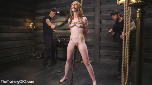 bdsm Hot Redhead Katy Kiss Trained to be a Better Slut
