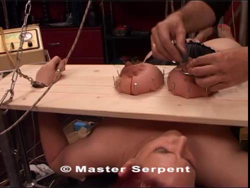 bdsm Huge tits extreme nails (2017)