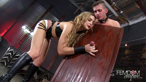 Femdom and Strapon Amazon takes control