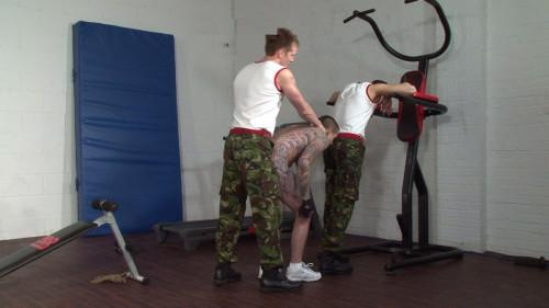 Gay BDSM Pain And Reward Army Fuckers (2014)