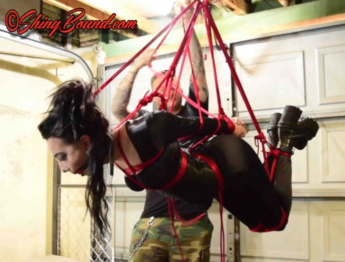 BDSM SBound - Vesper Luna.. Suspension Tap Out