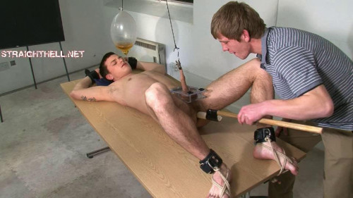 Gay BDSM Straighthell - Billy Session 7