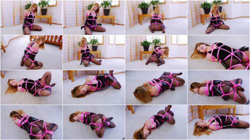BDSM Mina Velvet Bodysuit Pink Rope (2018)