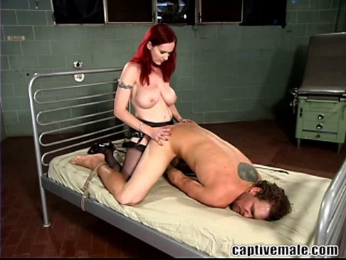 Femdom and Strapon Berlin and Rocky - Groin Issues