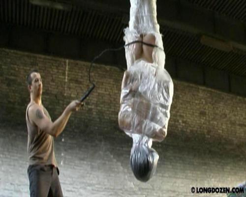BDSM tape tied