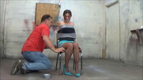 BDSM vivian in chair