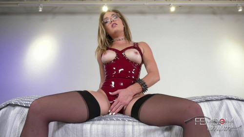 Femdom and Strapon Katie Kush - Controlling Slave Dick