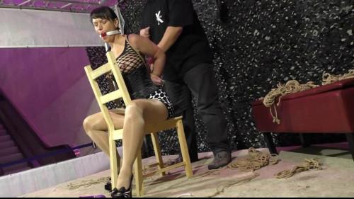 BDSM Hogtie Challenge with JJ Plush
