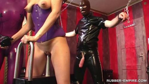 Femdom and Strapon Ultimate Tease and Denial
