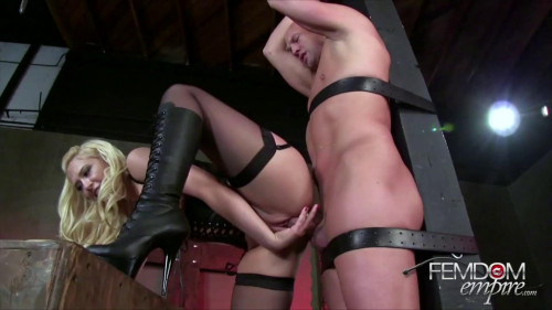 Femdom and Strapon Ultimate Edging Challenge