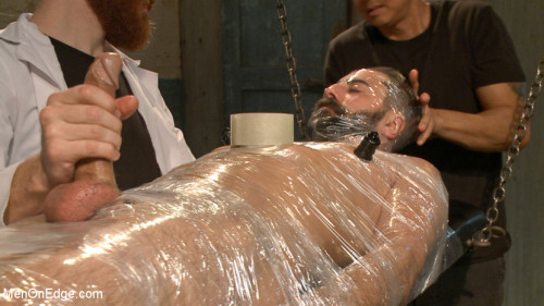 Gay BDSM Health Inspectors and Mummify a Hot Piece of Meat