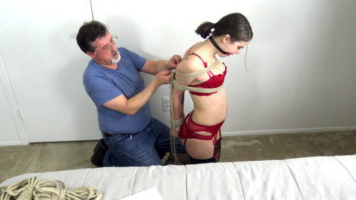 BDSM Cinched And Secured - Jeanet teplumber