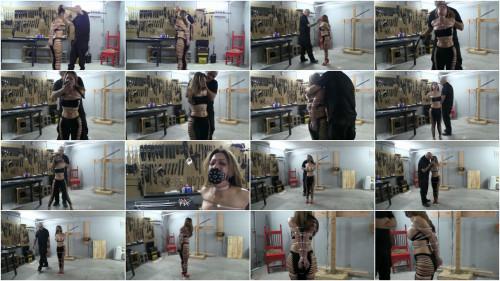 BDSM Tight bondage, domination and torture for horny hot slavegirl HD 1080p