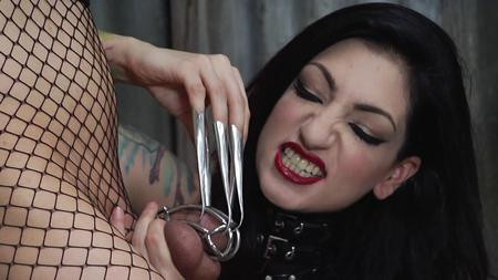 Femdom and Strapon Cybill Troy Is Vicious - (2018 Year)