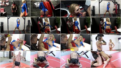 BDSM Superheroine Supergirl God of War