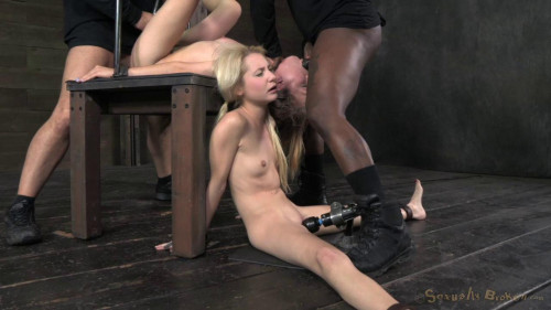 BDSM Two blonde pixies Odette Delacroix