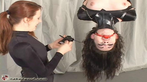 BDSM Inverted Hogtie from House of Gord