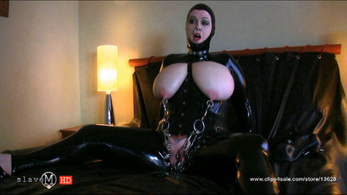 BDSM Latex Excellent Hot Vip New Perfect Gold Sweet Collection Slave M. Part 4.