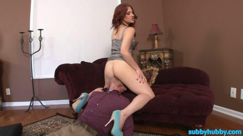 Femdom and Strapon Porn Most Popular Subby Hubby Collection part 35
