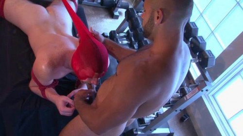 Gay BDSM Push, Pull, Squat, Thrust