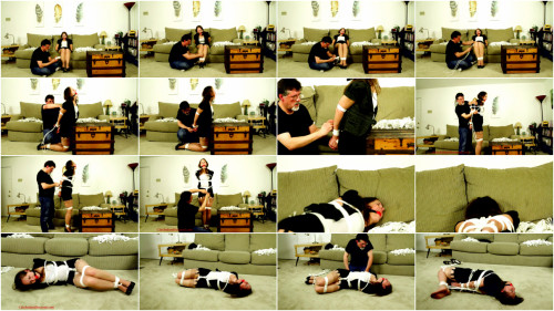 BDSM CinchedandSecured - Rachel Adams - Snatched from the Office