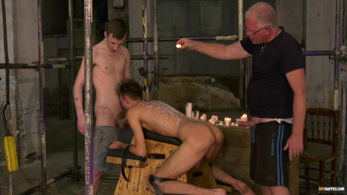Gay BDSM Making The New Boy Greedy For Cum - Full Movie - Full HD 1080p