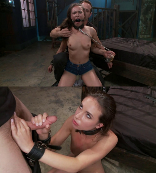 BDSM Hard bondage, suspension, spanking and torture for sexy slut