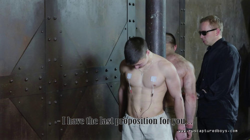 Gay BDSM Young Offender Pavel - Final Part