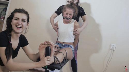 BDSM HD Bdsm Sex Videos Tickling to tears for Leya