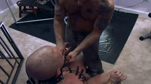 Gay BDSM Steel Mill Media - Training Play (2009)