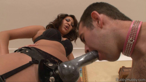 Femdom and Strapon Porn Most Popular Subby Hubby Collection part 36