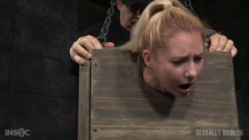 bdsm SexuallyBroken - Mar 18, 2016 - Tiny blonde Odette Delacroix bound inside a box