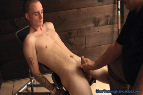 Gay BDSM Roller Coaster Edging