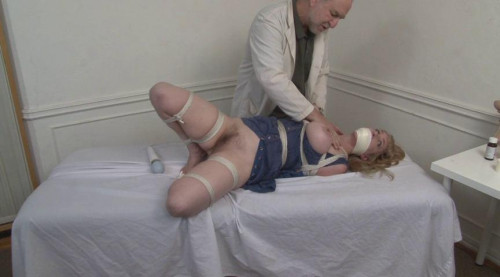 bdsm Bound and Gagged - Doctor Vibes Bound Patient to Orgasm - Lorelei