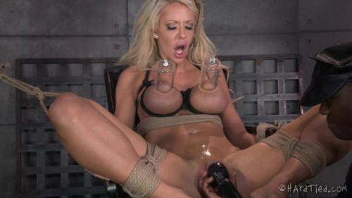 BDSM HT - A Bondage Barbie - Courtney Taylor and Jack Hammer
