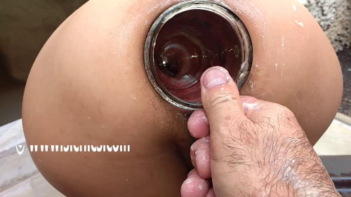 Fisting and Dildo Marias XXL anal insertions (2017)